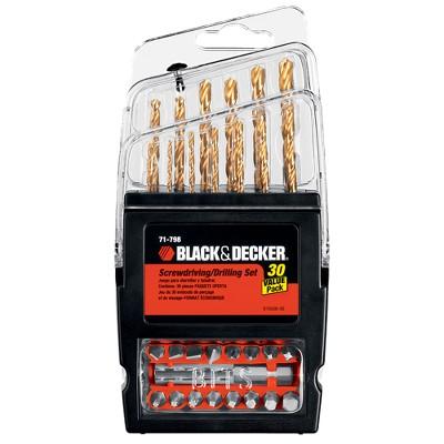 BLACK+DECKER™ Black & Decker 30-pc. Titanium Accessory Set