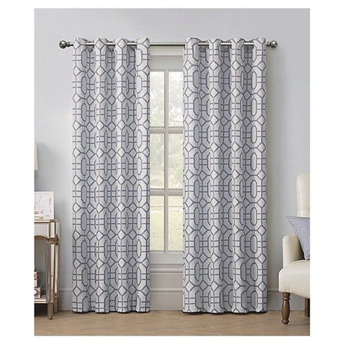 VCNY Tribeca Jacquard Grommet Curtain Panel - image 1 of 1