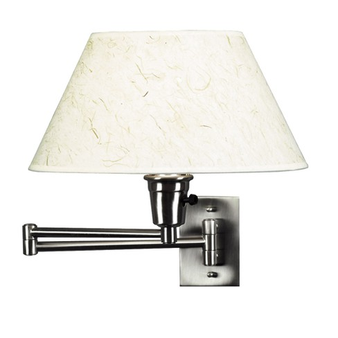 Simplicity Wall Swing Arm Lamp - Brushed Steel Finish - image 1 of 1