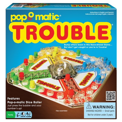 Winning Moves Classic Trouble Game - image 1 of 2