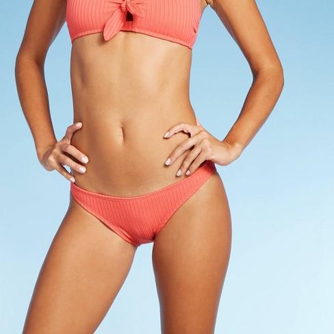 Juniors' Ribbed Hipster Bikini Bottom - Xhilaration™ - image 1 of 4