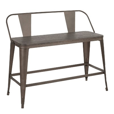 Oregon Industrial Counter Bench - LumiSource