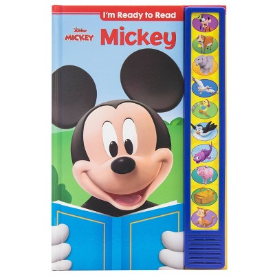 Disney Mickey Mouse - I'm Ready to Read - Sound Book (Hardcover)
