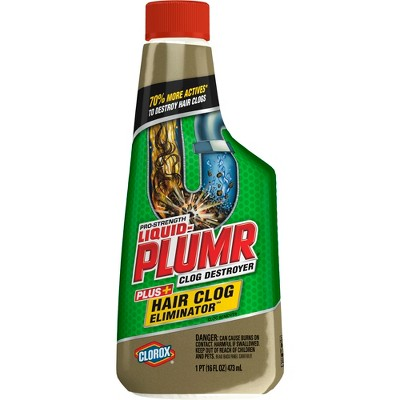 Drain Cleaners: Liquid-Plumr Pro-Strength Hair Clog Remover