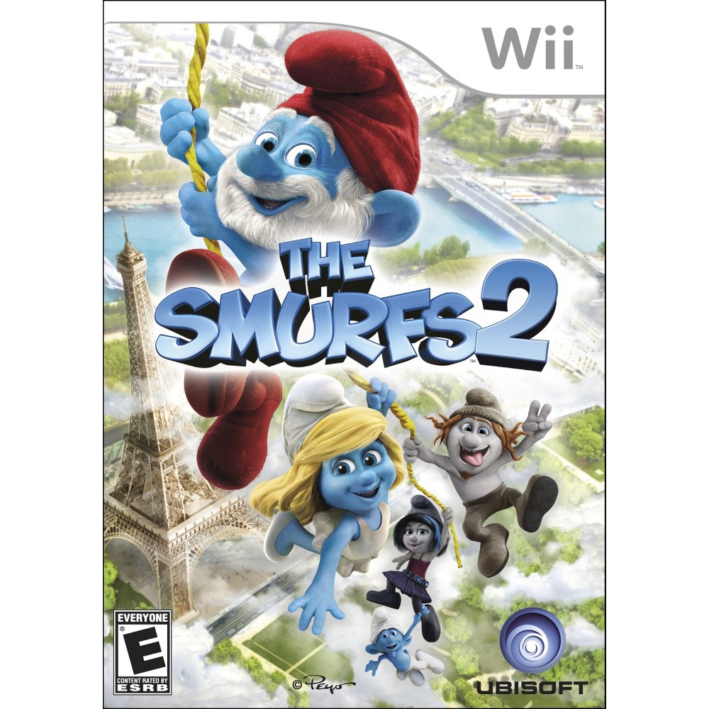 Smurfs 2 Nintendo Wii, video games