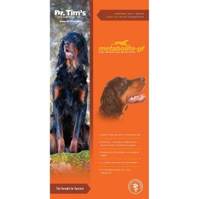 Dr. Tim's Metabolite Grain Free Weight Management Premium Dry Dog Food