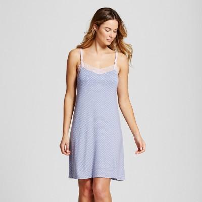 Maternity Nursing Nightgown - Gilligan & O'Malley™ Misty Blue M