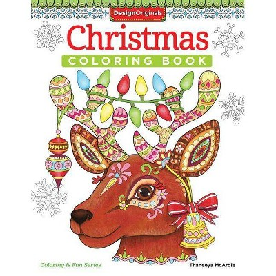 Christmas Coloring Book - (Coloring Is Fun) By Thaneeya McArdle (Paperback)  : Target