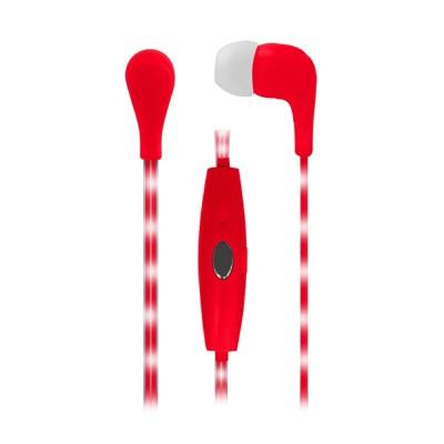 Naxa VECTOR Earphones with LED Cord