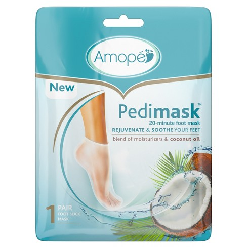 Amope Pedimask 20-Minute Foot Mask - Coconut Oil - image 1 of 4