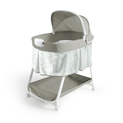 Ity by Ingenuity Snuggity Snug Soothing Vibrations Bassinet Nimbu