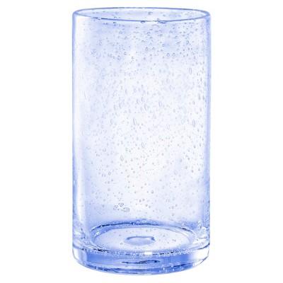 Artland Iris 17oz 4pk Highball Glasses Light Blue