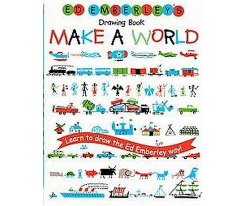 Ed Emberley's Drawing Book: Make a World (Paperback) - image 1 of 1