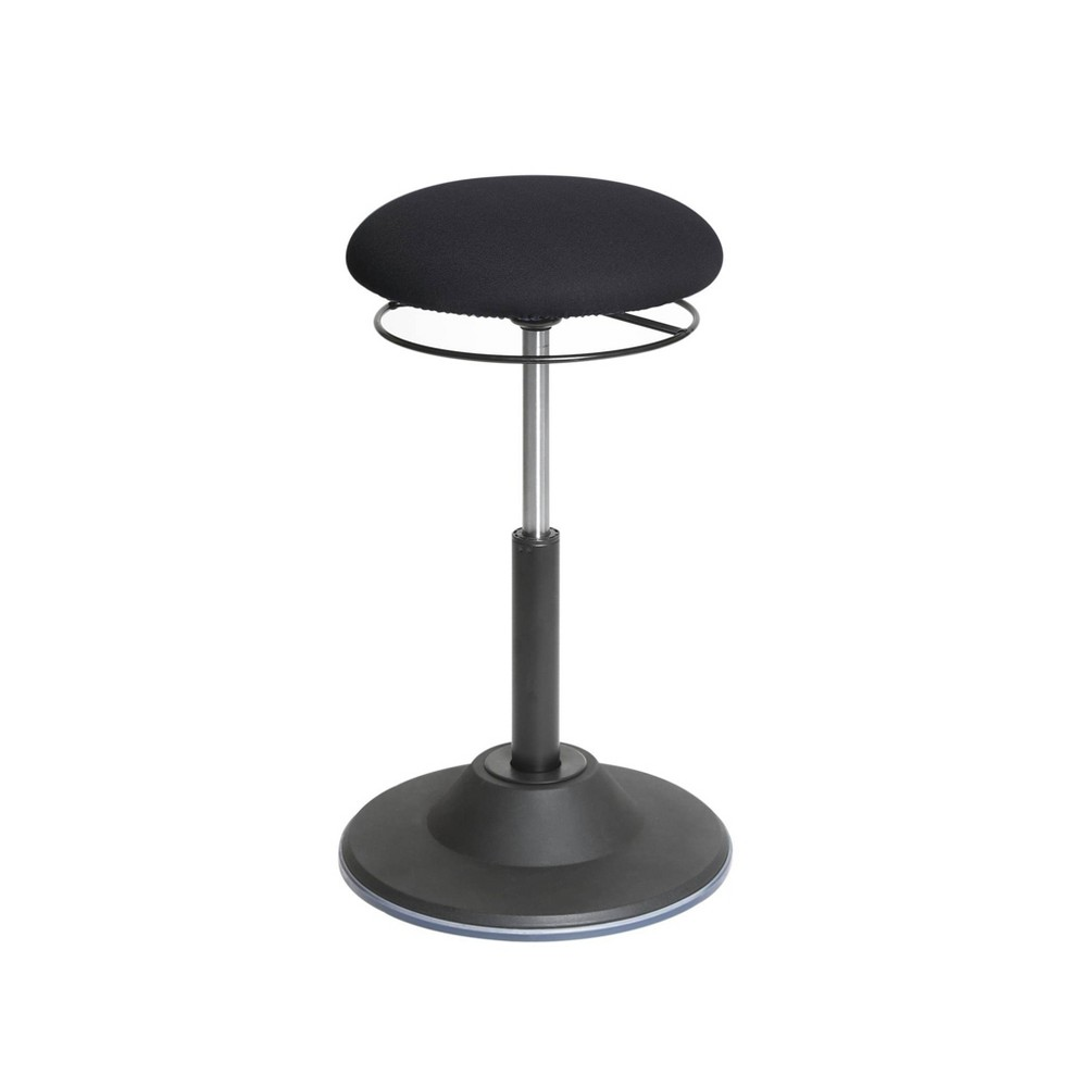 Image of Airlift Adjustable Ergonomic Active Balance Non - Slip Desk Stool Black - Seville Classics