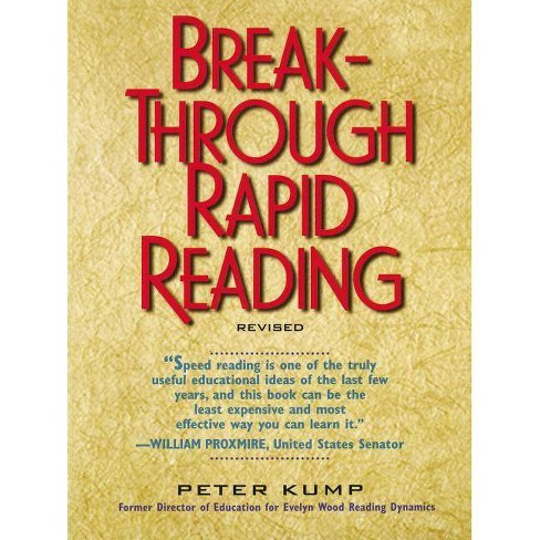 Breakthrough Rapid Reading - by  Peter Kump (Paperback) - image 1 of 1