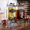 American Atelier Chalkboard Beverage Dispenser with Stand Set of 2 - image 2 of 2