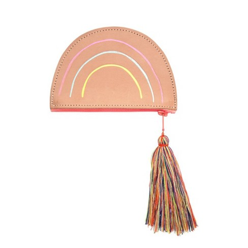 Meri Meri - Leather Rainbow Purse - Handbags - 1ct - image 1 of 1