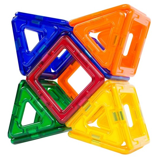 Magformers Magnetic Power Magic Rainbow Set - 30 Piece image number null