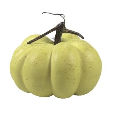 "Home Decor 6.5"" Yellowish Green Pumpkin Fall Thanksgiving  -  Decorative Figurines"