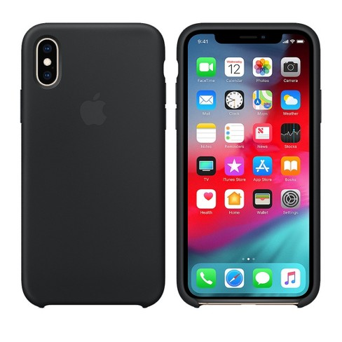the best attitude 8b39e a307b Apple iPhone X/XS Silicone Case - Black