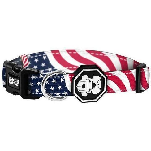 Fresh Pawz Patriot Dog Collar - image 1 of 1