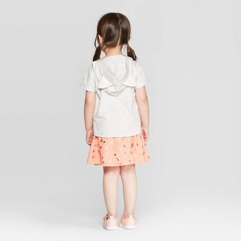 2020dac97 Toddler Girls' Disney Nala Hoodie And Skirt Set - Cream : Target