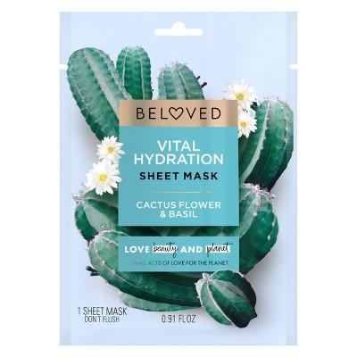 Beloved Cactus Flower & Basil Face Mask - 1ct