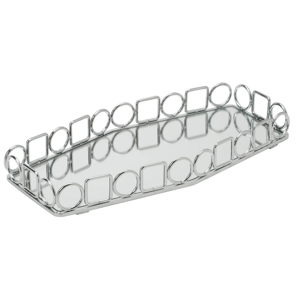 Image of Bathroom Tray Chrome - Home Details, Silver