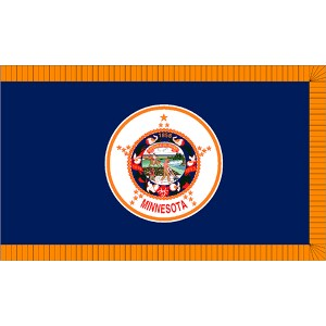 Halloween Minnesota State Flag - 4