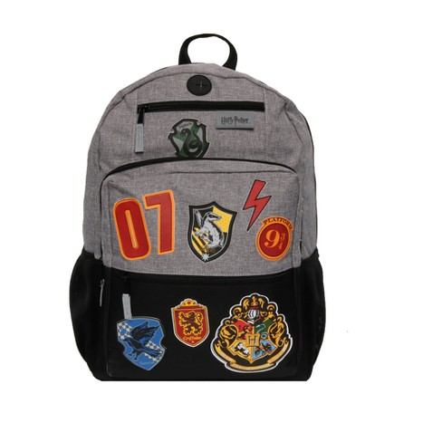 "Harry Potter 18"" Hogwarts School Kids' Backpack - Black - image 1 of 6"