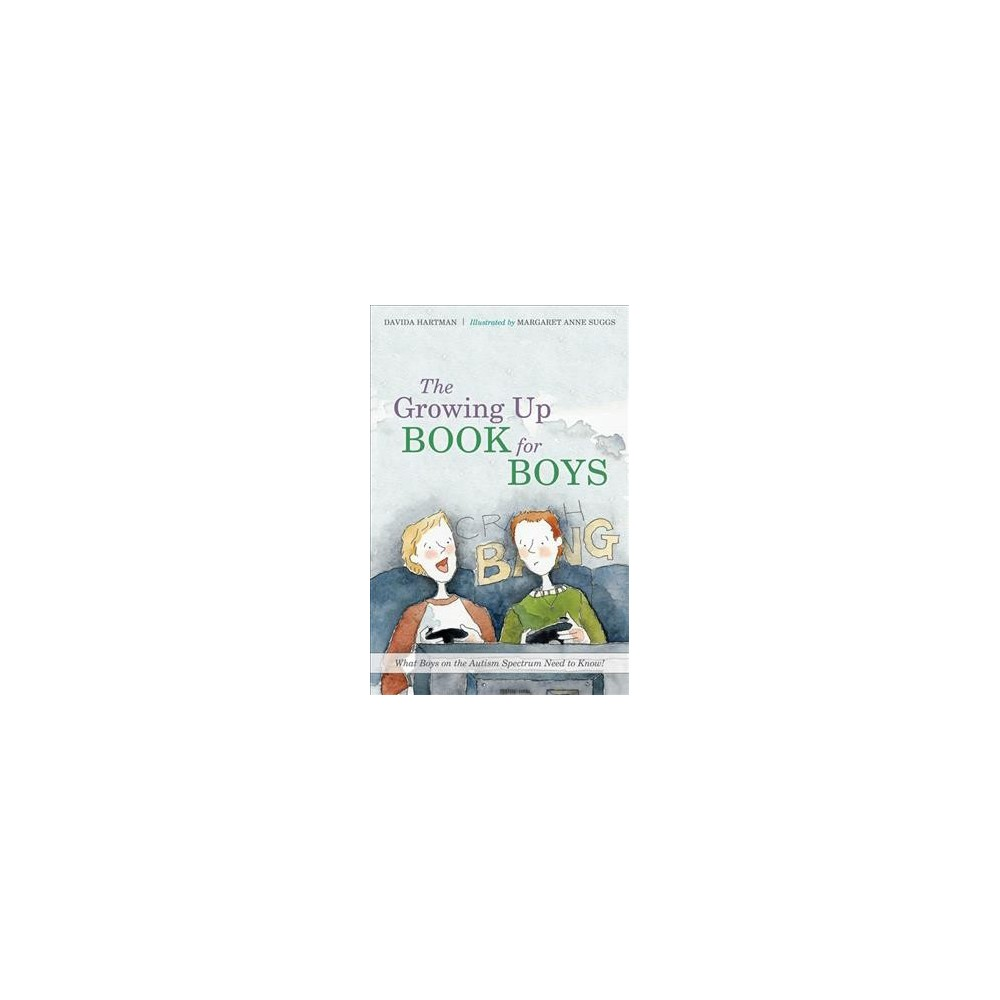 Growing Up Book for Boys : What Boys on the Autism Spectrum Need to Know! - (Hardcover)