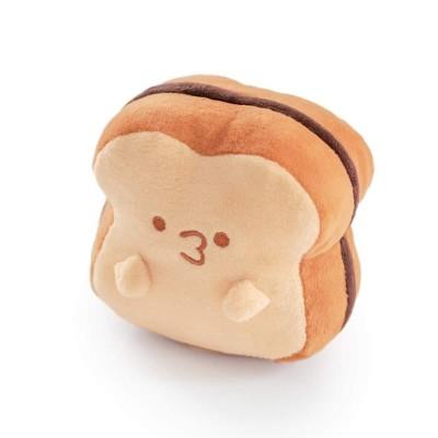 Hashtag Collectibles Sweet Breads 5 Inch Sandwich Plush - Hazelnut