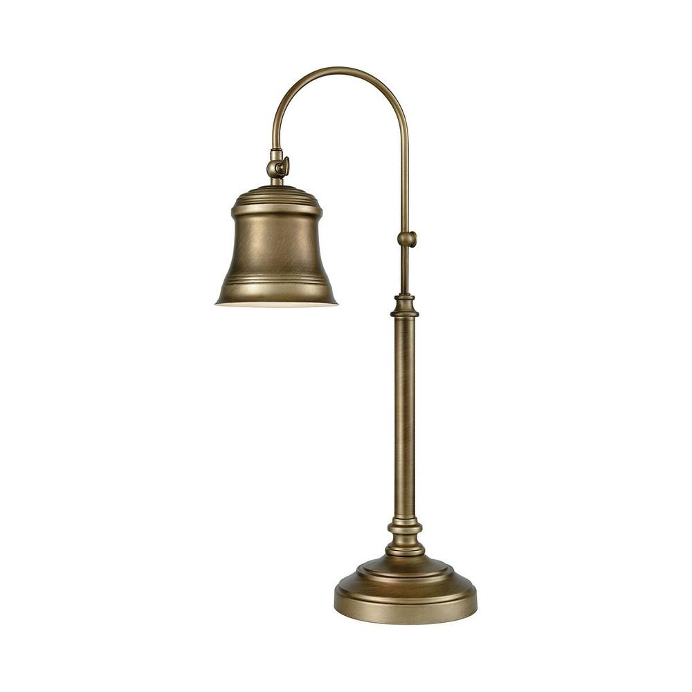 Image of Kensington Table Lamp antique Brass (Includes Energy Efficient Light Bulb) - Pomeroy