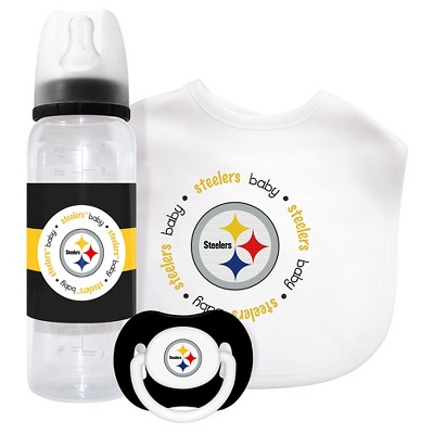 NFL Pittsburgh Steelers® Baby Fanatic 3-Piece Gift Set