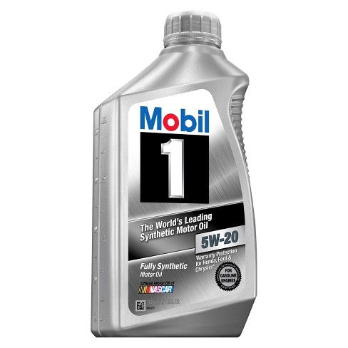 mobil 1 motor oil 5w-20 1 quart : target