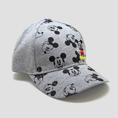 Toddler Boys  Mickey Mouse Baseball Hat - Gray One Size   Target 66344b24000
