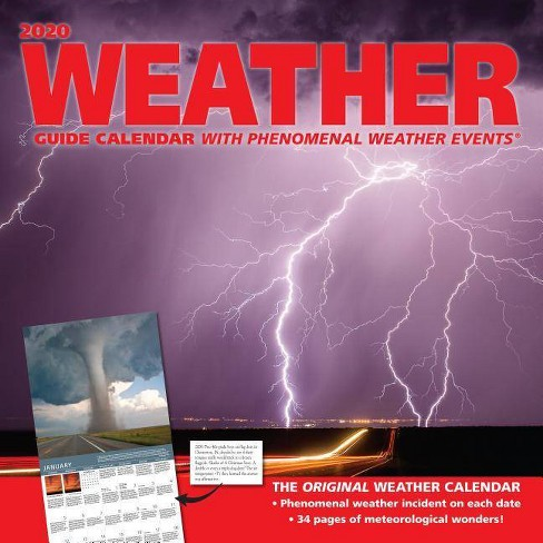 Weather Calendar 2020 Weather Guide 2020 Wall Calendar   By Andrews McMeel Publishing