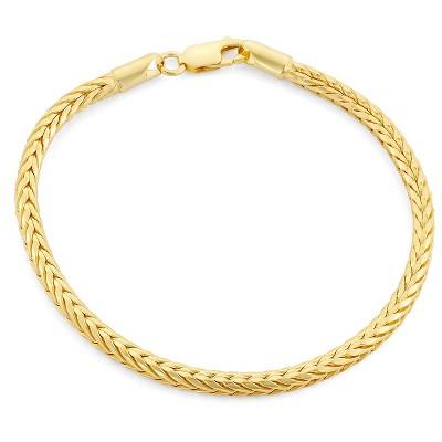 Tiara Sterling Silver Foxtail Chain Bracelet