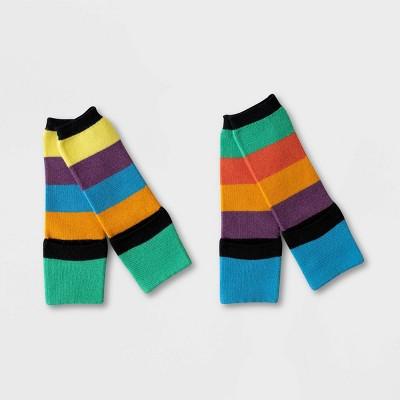 Toddler 2pk Sensory Friendly Zuma Striped Socks - Sockabu 3T-4T