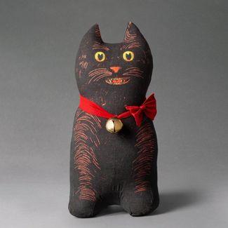 """The Cat"" Cat Shaped Throw Pillow - John Derian for Threshold™"