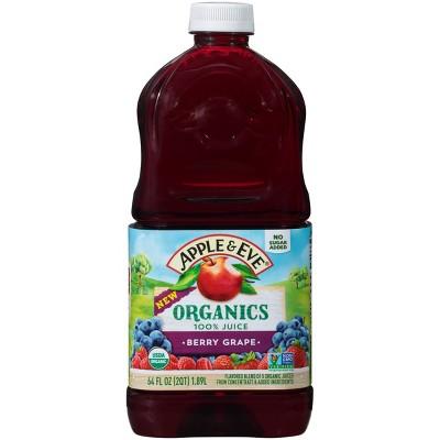 Apple & Eve 100% Juice Berry Grape - 64 fl oz Bottle