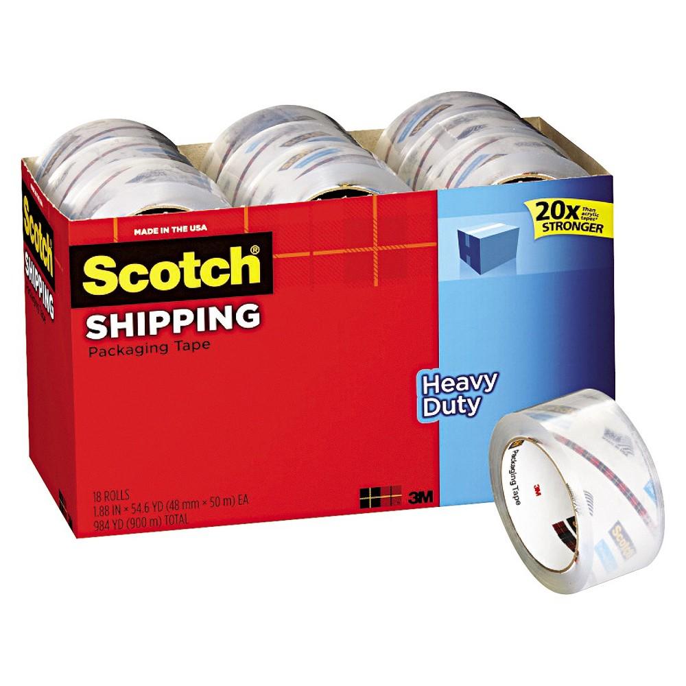 "Image of ""Scotch 3850 Heavy-Duty Packaging Tape Cabinet pk, 1.88"""" x 54.6yds, 18pk"""