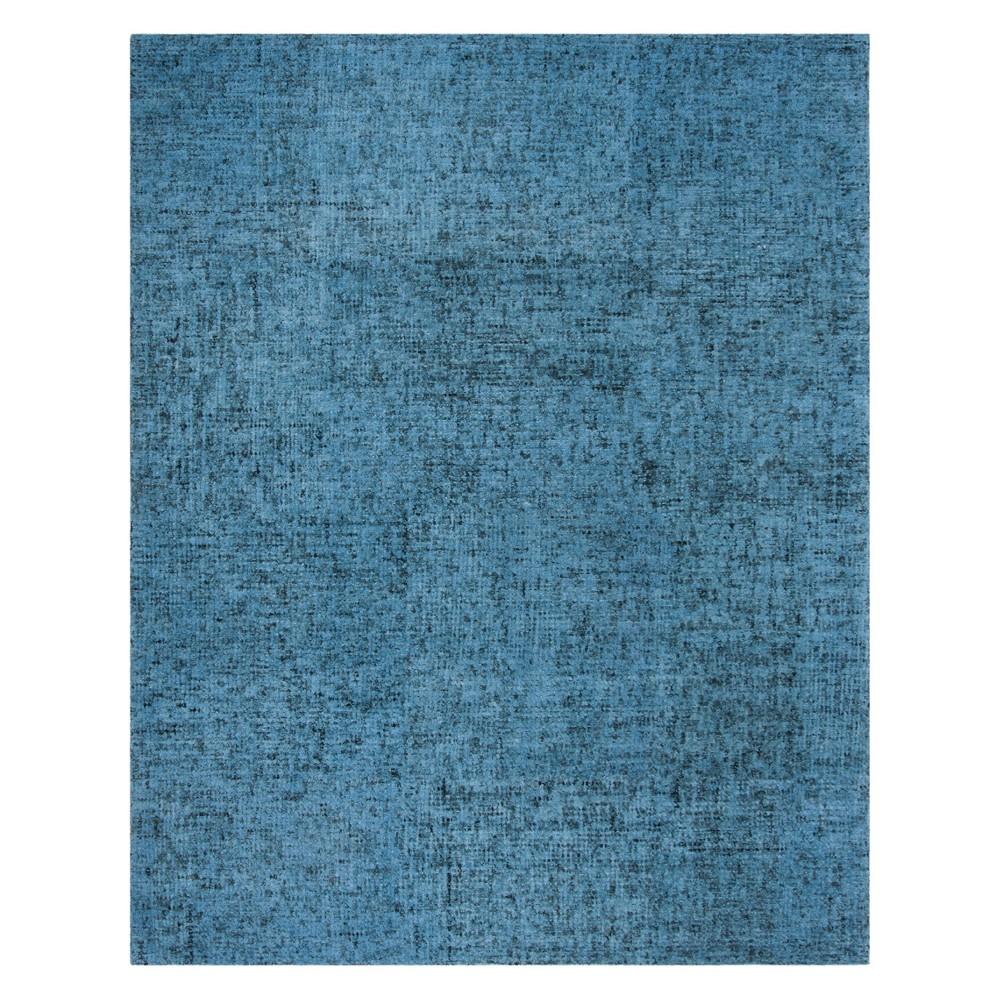 8'X10' Crosshatch Tufted Area Rug Blue - Safavieh, Multicolored
