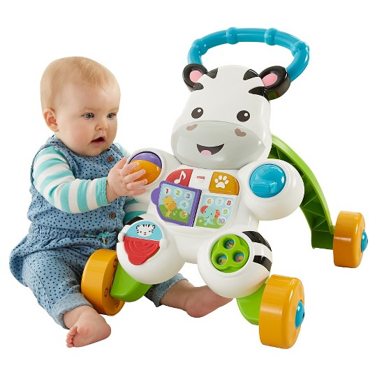 Fisher-Price Learn with Me Zebra Walker image number null