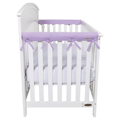 Trend Lab® CribWrap® Fleece Rail Covers - Narrow Short - 2pk - Lavender