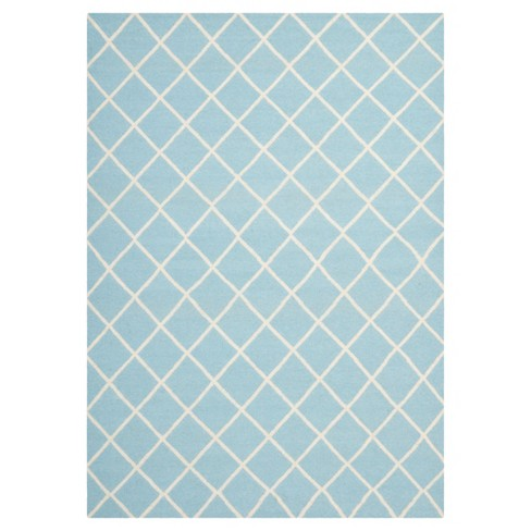 Brant Flatweave Rug - Lite Blue/Ivory (9'X12') - Safavieh® - image 1 of 5
