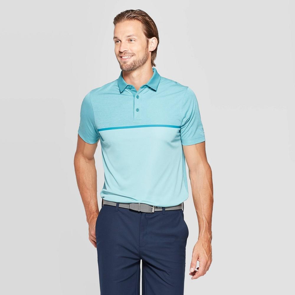 Image of Men's Novelty Golf Polo Shirt - C9 Champion Ocean Green XXL, Men's, Blue Green