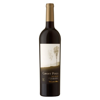 Boudreaux Ghost Pines Red Blend Wine - 750ml Bottle