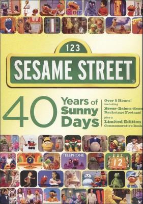 Sesame Street: 40 Years of Sunny Days (2 Discs) (dvd_video)