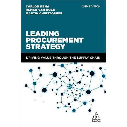 Leading Procurement Strategy - 2 Edition by  Remko Van Hoek (Paperback) - image 1 of 1